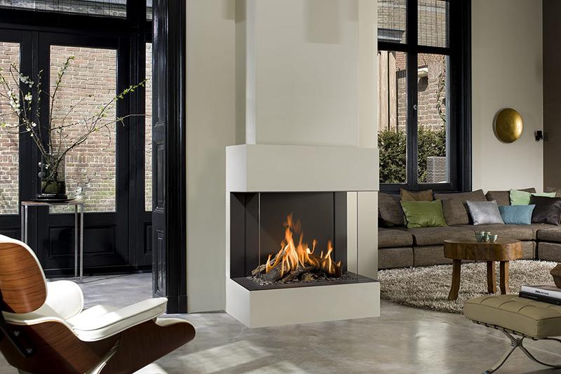 Bellfires Gaskachel - View Bell Topsham Premium Fire