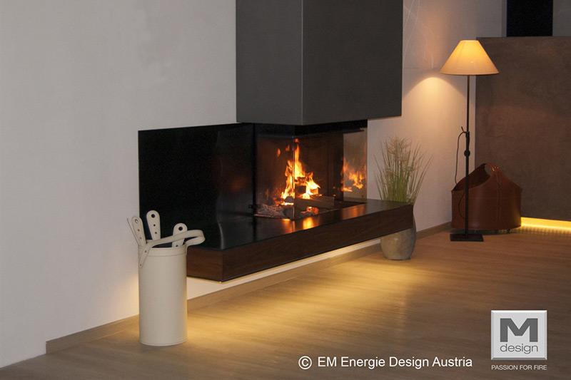 M-Design Houtkachel Inbouw Luna Diamond 800 DC